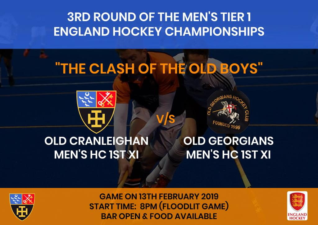 EH Cup Men's 1 v OGs - OC Hockey Club
