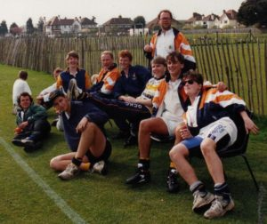 The Pagans at Worthing in the spring of 1992.