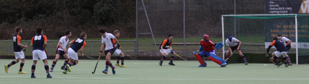 OCHC 1st XI 4-0 Spencer, Thames Ditton, February 28, 2015