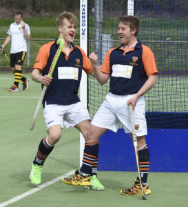Old Cranleighan Hockey Club 1st XI 4-0 Purley Walcountians, Surrey Cup final, Thames Ditton, April 10, 2016